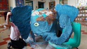Eliffant glas :: Blue eliphant