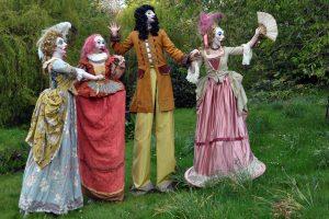 Cymeriadau Commedia characters
